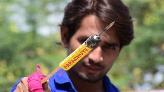 कमाल हो गया जब हमने दीवाली रॉकेट पर किल लगा दी - Nail On A Diwali Rocket | Diwali 2018