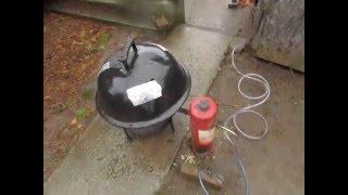 Repeat youtube video füstgenerátor teszt