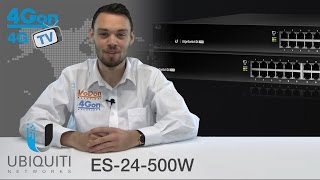 Ubiquiti EdgeSwitch ES-24-500W Review / Unboxing