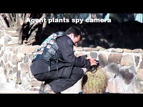 Government Spies caught on Camera
