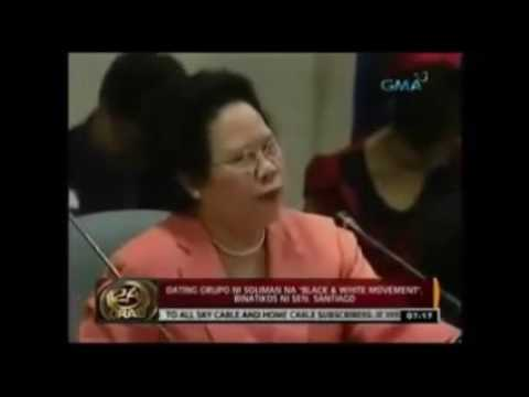 "Miriam Santiago""s Explanation about the Superiority of Women over men 1"
