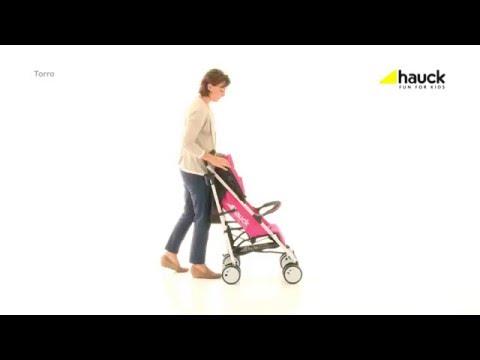 Hauck Torro - всесезонная коляска-трость с большим капюшоном (Hauck Torro)