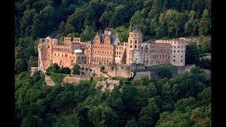 Смотреть Гейдельбергский замок. Германия онлайн