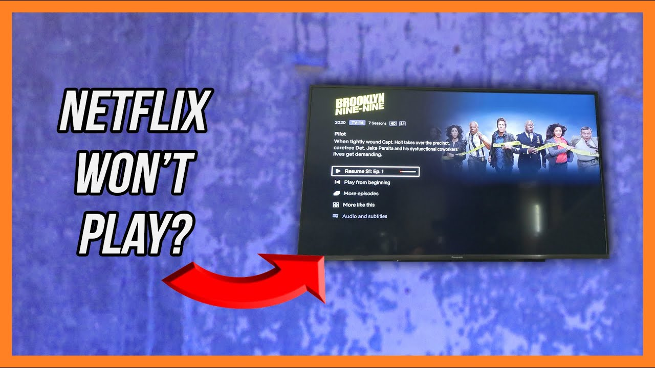 Netflix Won't Play a Video on Your Fire TV Stick?  Here's a Quick Fix!