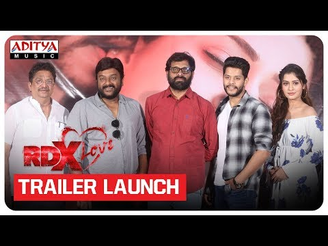 RDX Love Movie Trailer Launch | Paayal Rajput, Tejus