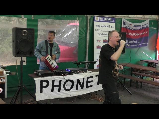 Vlastenecký pokec, koncert skupiny Phonetix, II. část
