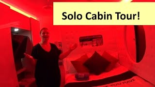 STUDIO SUITE & SOLO LOUNGE Tour • Norwegian Escape Cruise Ship!