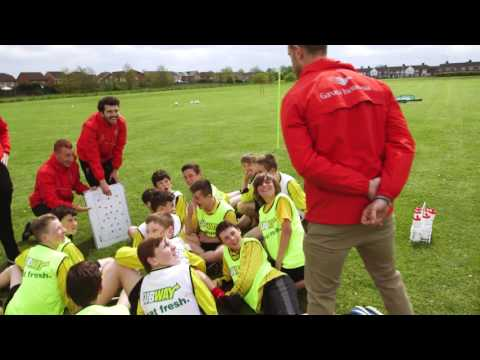 Jordan Henderson surprises training | SUBWAY® - the Official Partner of Liverpool Football Club