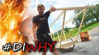 Pietsmiets Flug-Gestell bauen| Bastelboys | #DIWhy #RedBullFlugtag