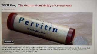 Same Mastermind behind Screens using same Techniques: Amphetamine, Pervitin, Fenethyllin, Captagon