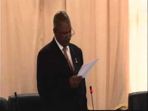 Budget Presentation and Debate - 2012