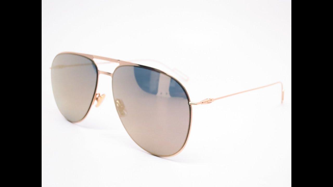 8999ea2fe1d Dior Homme 205S J5GMV Gold Sunglasses