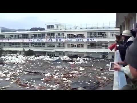Tsunami in Japan.  The Power of Nature