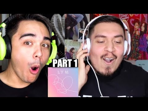 BTS LOVE YOURSELF Answer First Listen/Reaction PART 1 Ft. JRE!