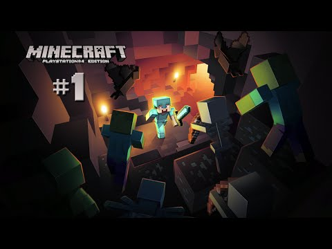 Minecraft Playstation 4 Edition Deutsch #1 - Das Pixelabenteuer beginnt - Let's Play Together
