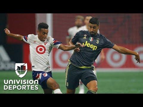 Estrellas de la MLS 1(3) - Juventus 1(5): Goles, mejores jugadas y definicin por penaltis