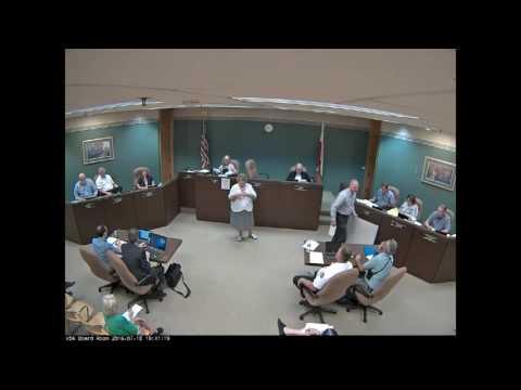 2016 07 18 Board Meeting VIDEO