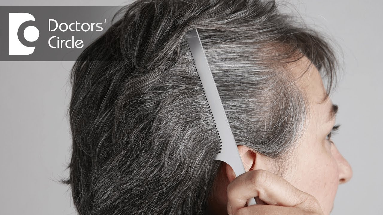 Natural Ways To Color Grey Hair Dr Saritha Nair Youtube