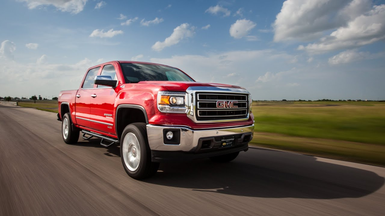 2015 hpe650 supercharged gmc sierra pick up truck test drive youtube. Black Bedroom Furniture Sets. Home Design Ideas
