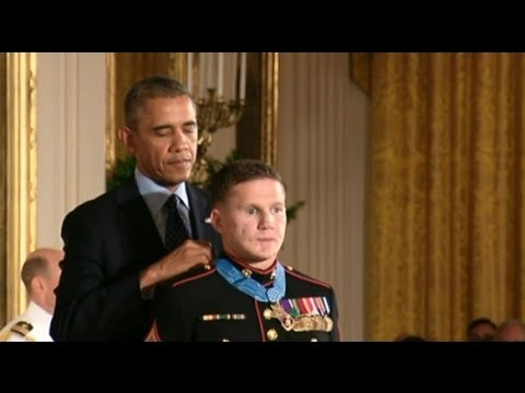 "Medal of Honor - Marine Corps Cpl. William ""Kyle"" Carpenter"