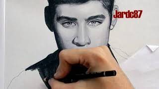 One Direction - Drawing @ZaynMalik By Juan Andres