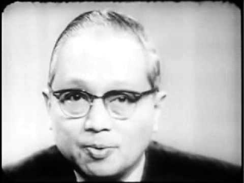 U Thant talks on peace in Vietnam (07/05/1968)
