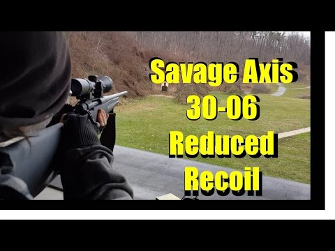 Blake on the 30 06 Reduced Recoil
