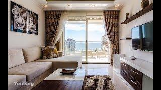 1+1 квартира с видом на море в Аланье
