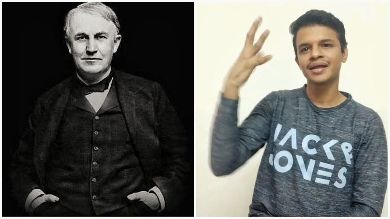 Thomas Alva Edison Story    Deaf vlog    Gleam Hands