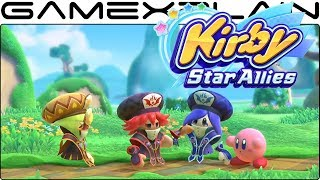 Kirby Star allies multiplayer
