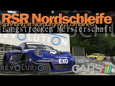 [RSR] Exciting Nürburgring Nordschleife Combined Sprint Race (Project CARS)