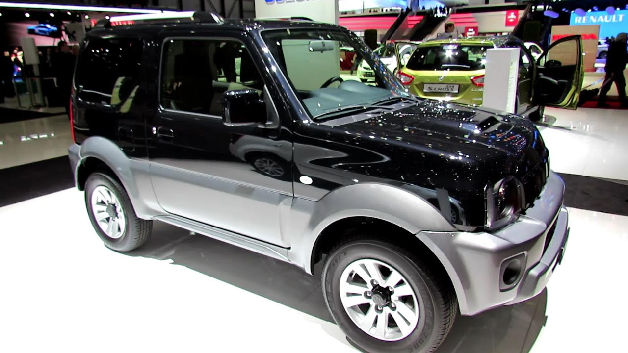 2014 suzuki jimny 1 3 compact top 4x4 exterior interior walkaround 2014 geneva auto show. Black Bedroom Furniture Sets. Home Design Ideas