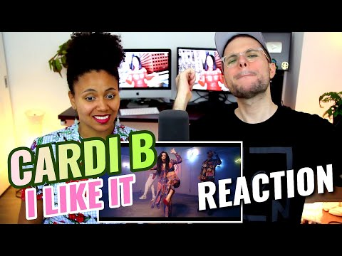 Cardi B, Bad Bunny & J Balvin - I Like It | REACTION