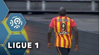 But Adamo COULIBALY (10') / RC Lens - Paris Saint-Germain (1-3) -  (RCL - PSG) / 2014-15