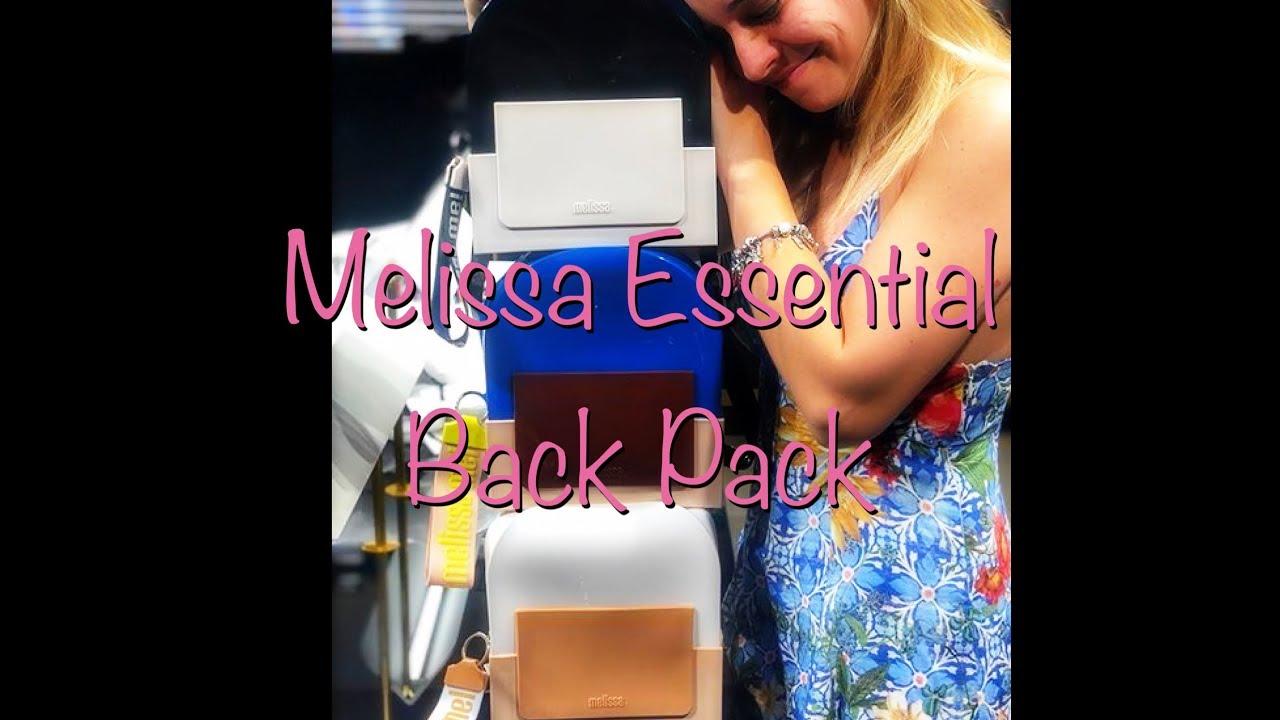 47ef4c91e Nanda Barros - resenha Melissa essintial back pack - YouTube