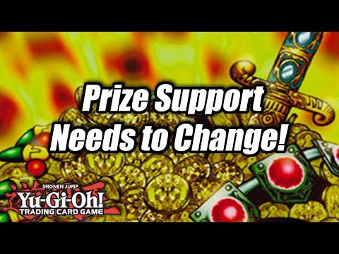Yu-Gi-Oh! Prize Support Needs to Change!