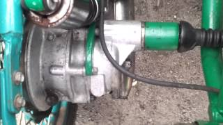 Мотоцикл Урал с днепровским приводом на колесо коляски! 2WD. Обзор.