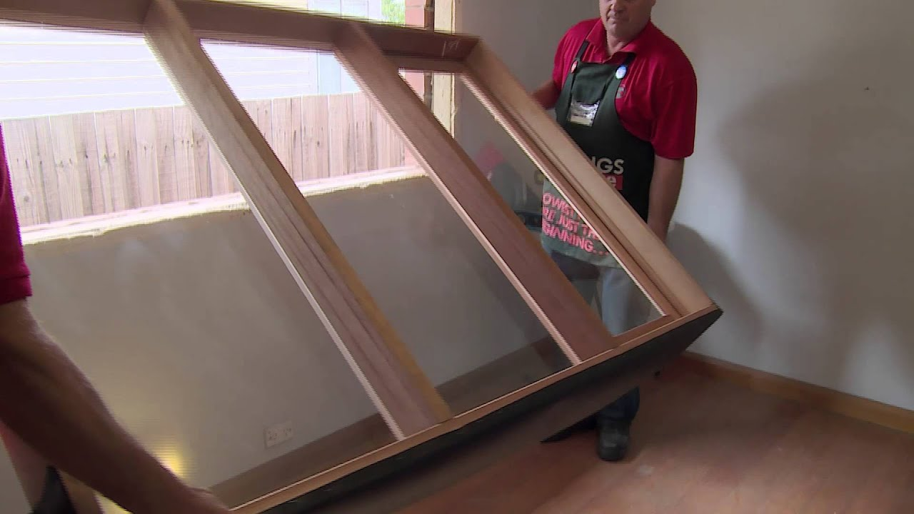 How to install a casement window diy at bunnings youtube for Installing casement windows