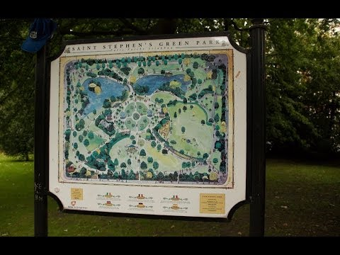 [Full HD] Our Visit To Dublin Featuring St Stephen's Green Park