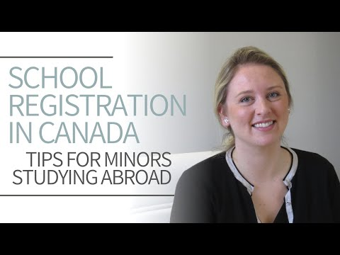 Study Visa For Minors   Study Abroad In Canada