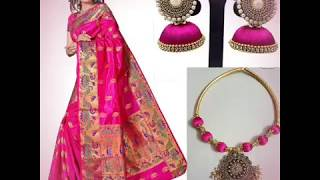 Navratri Day 18-10-2018 ||Beautiful Pink color All Collection For Womens||