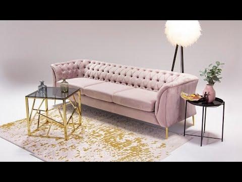 Chesterfield Modern 3 Seater Sofa
