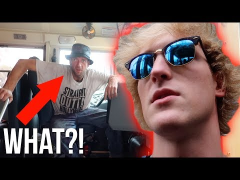 Thumbnail: CAUGHT A GUY TRYING TO STEAL MY BUS! (raw)