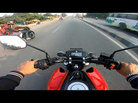 Yamaha FZS BS6 FI Test Ride Review - No vibrations!! 😂 🔥