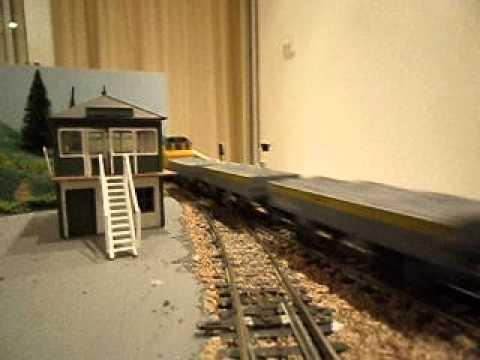 6 x 4 Model Railway, Fully Scenic Train Set, OO Gauge
