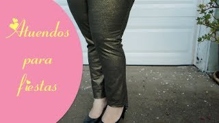 Como vestir si eres gordita! | Atuendos Para Fiestas (Moda Tallas Grandes)