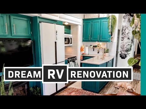 Renovated RV Tour: Full-time Traveling Family of 4