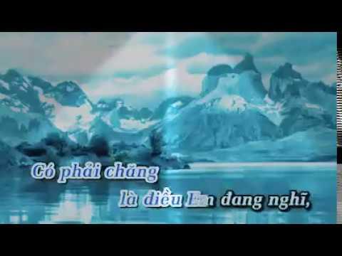 Karaoke - Yêu Thương Của Em Là Gì - Châu Việt Cường