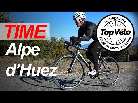 Image de la vidéo Vélos de route Time Alpe d'Huez 01 et Time Alpe d'Huez 21