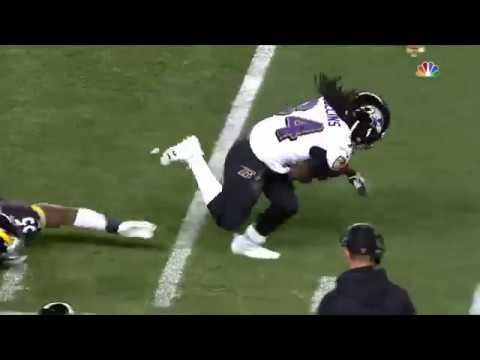 Alex Collins || The Irish Dancer || 2017 Baltimore Ravens Highlights